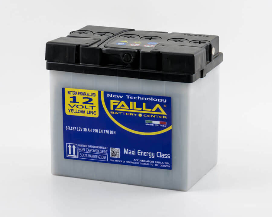 failla batterie avviamento yellowline