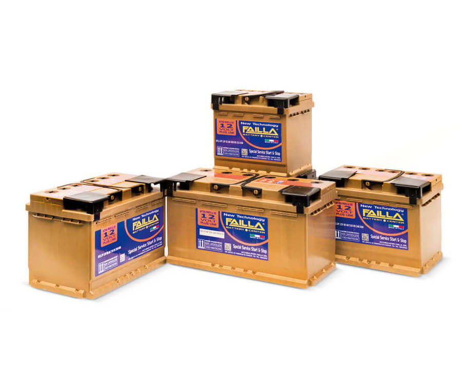 Failla batterie avviamento Plus Line