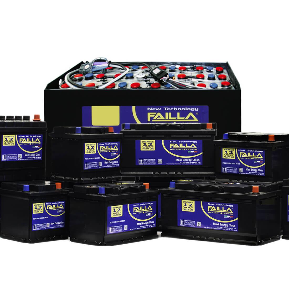 batterie avviamento e trazione industriale