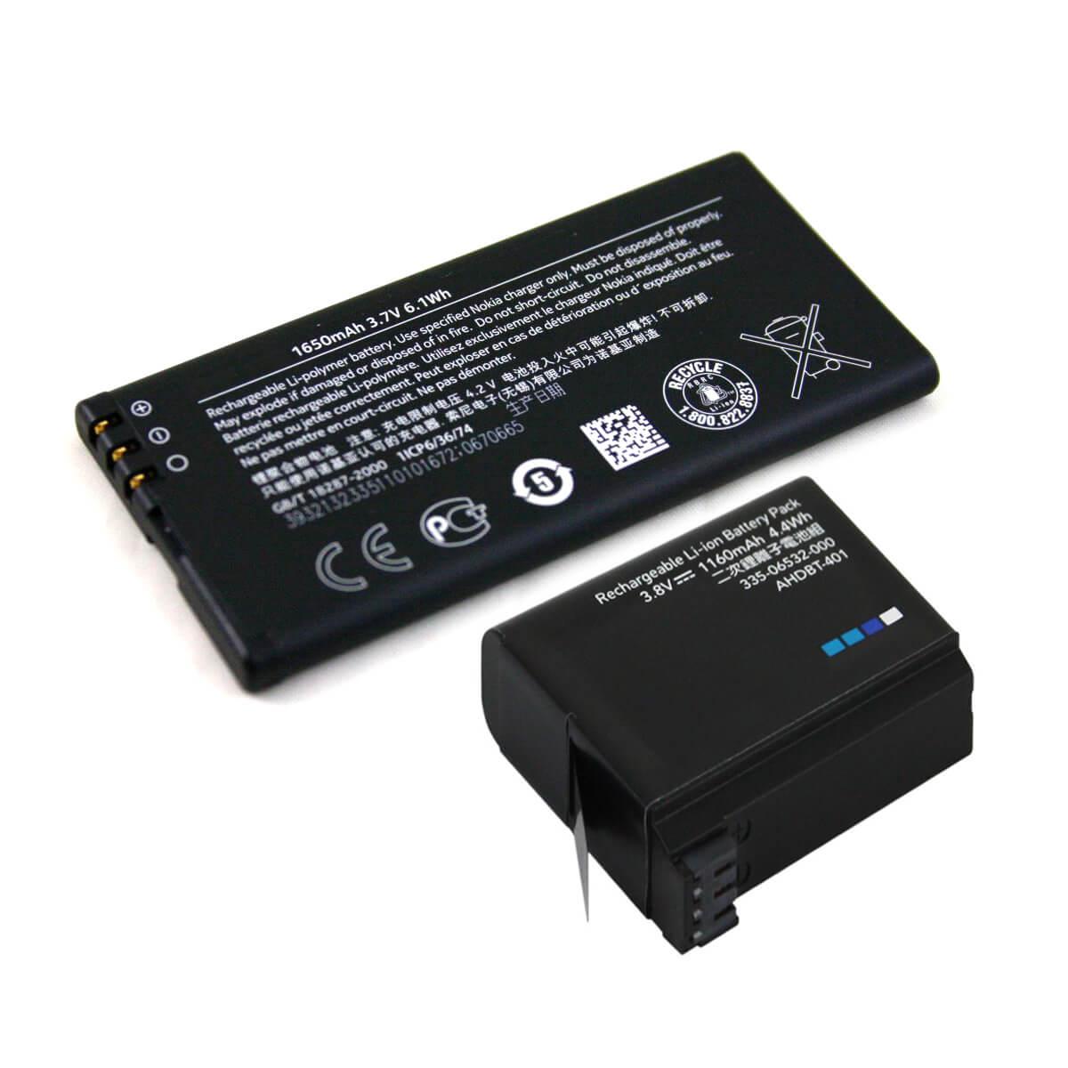 Smartphone GoPro Videocamere Failla batterie accumulatori pile cavour pinerolo saluzzo