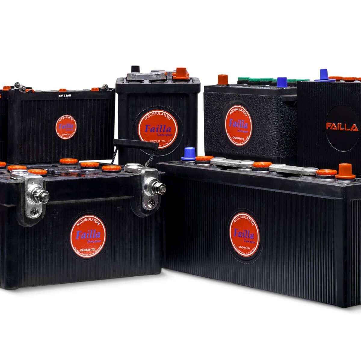 Veicoli storici Failla batterie accumulatori pile cavour pinerolo saluzzo